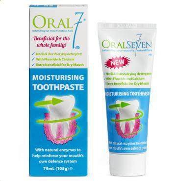 Oral7 Moisturizing Toothpaste 105g