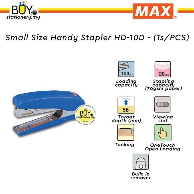 Max Small Size Handy Stapler HD-10D - (1s/PCS)
