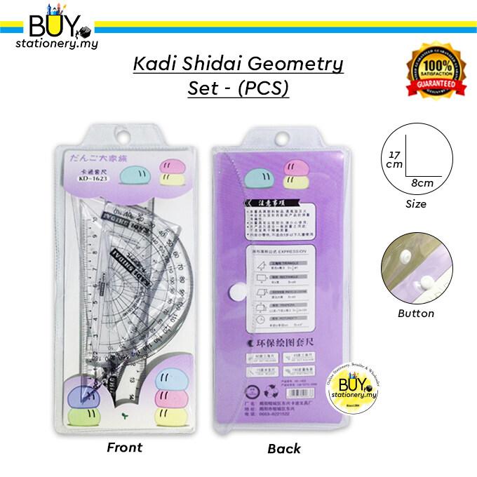Kadi Shidai Geometry Set - (PCS)