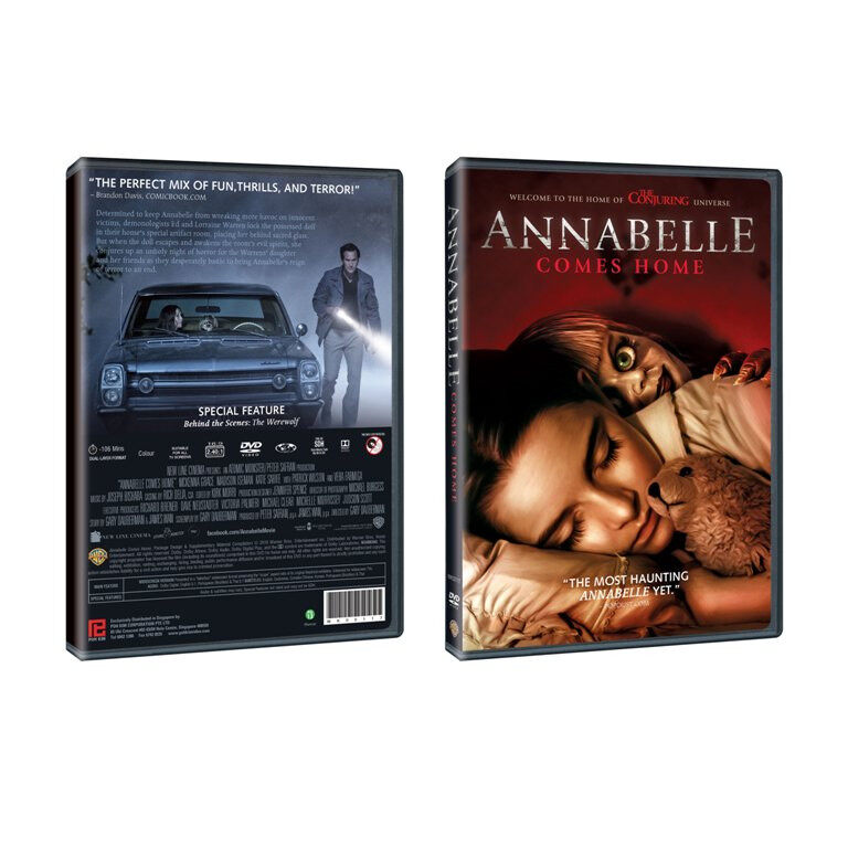 English Movie Annabelle Comes Home DVD