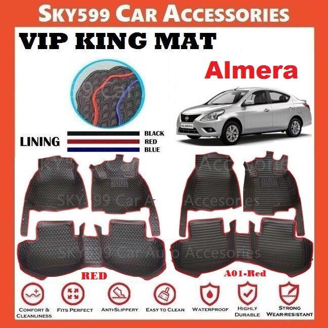 Nissan Almera VIP KING MAT CAR CARPET/CAR MAT FLOOR MAT