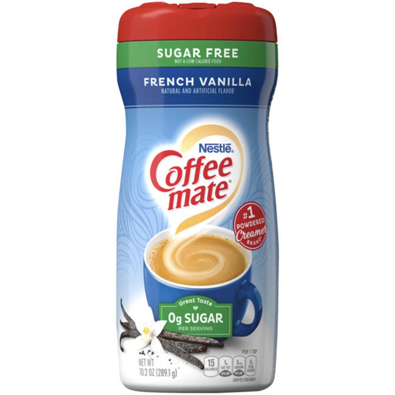 COFFEE CREAMER Nestle Coffee Mate Vanilla Zero Sugar Coffee Creamer (289g) Coffee or Tea