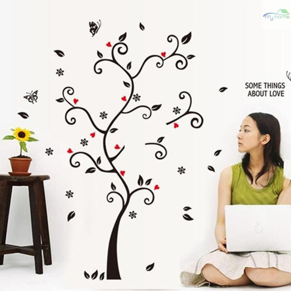 Mirrors & Wall Art - Decorative Self Adhesive Living Room Bedroom Photo Frame Memory Tree Decal Removable Mural Wall - #