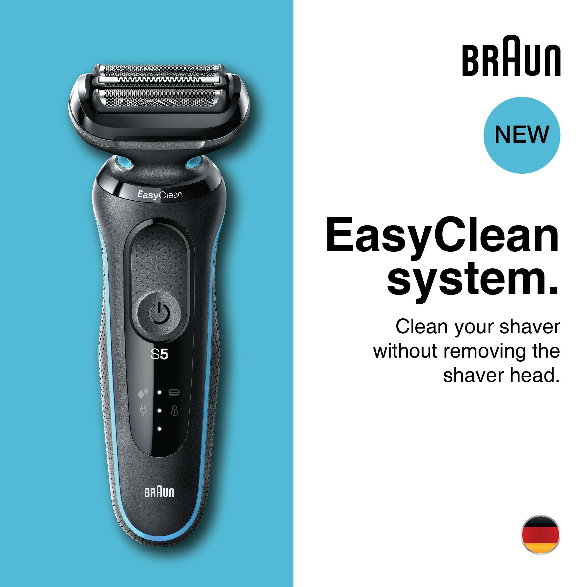 Braun Series 5 50-M1000s Wet & Dry shaver, mint.