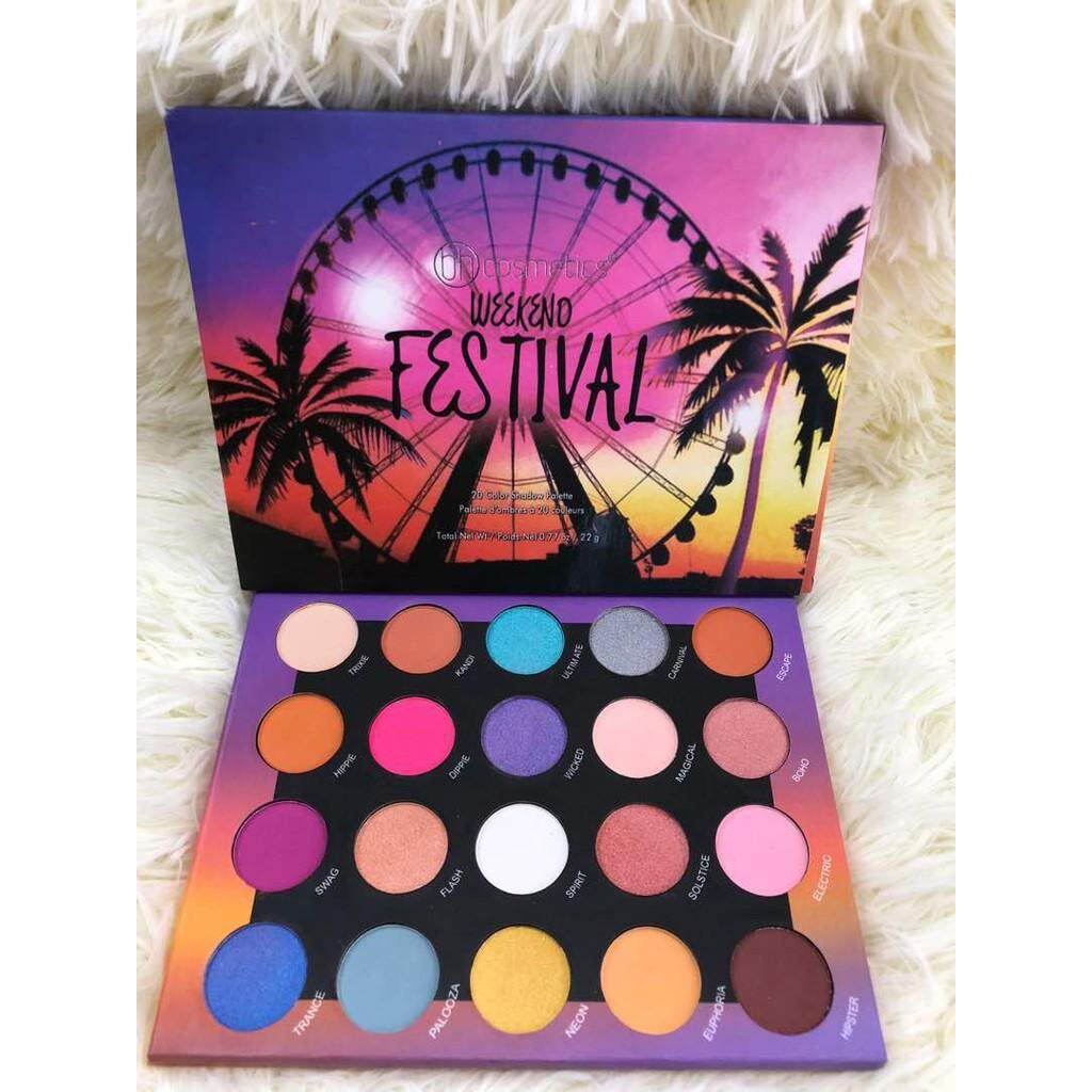 FREE GIFTFESTIVAL EYESHADOW 20 COLOURS SET