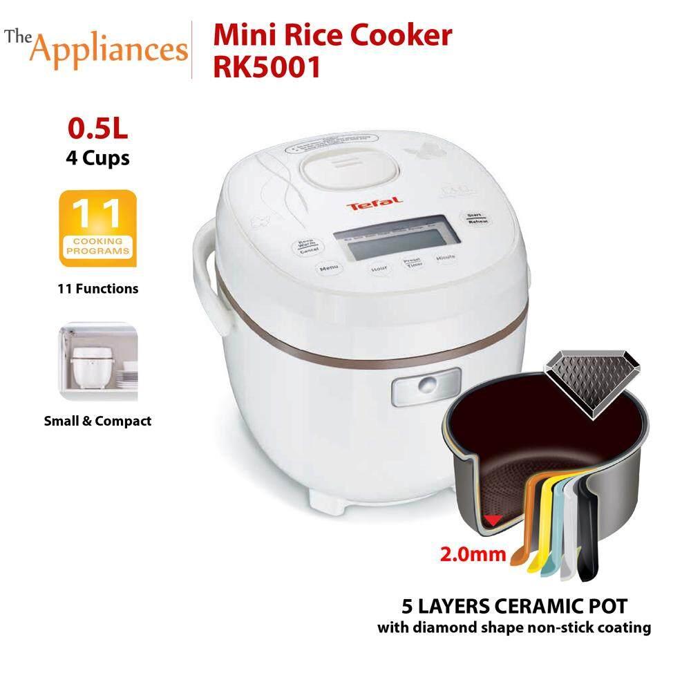 Tefal Rice Cooker Mini White RK5001 (0.7L)