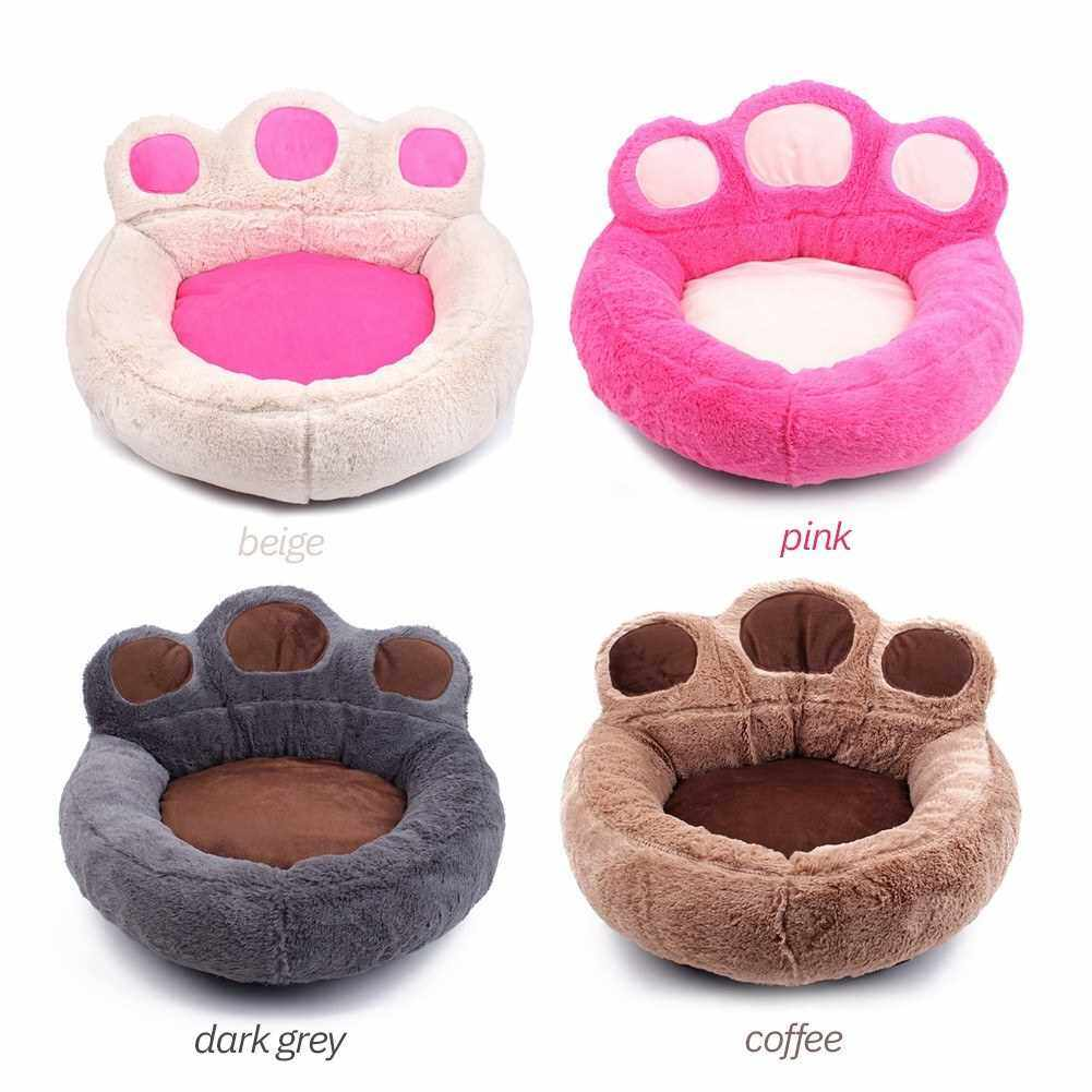 Soft Pet Sofa Comfortable Pet Bed Mat Dog and Cats Sleeping Bed Pet Supplies Washable Pets Nest (Pink)