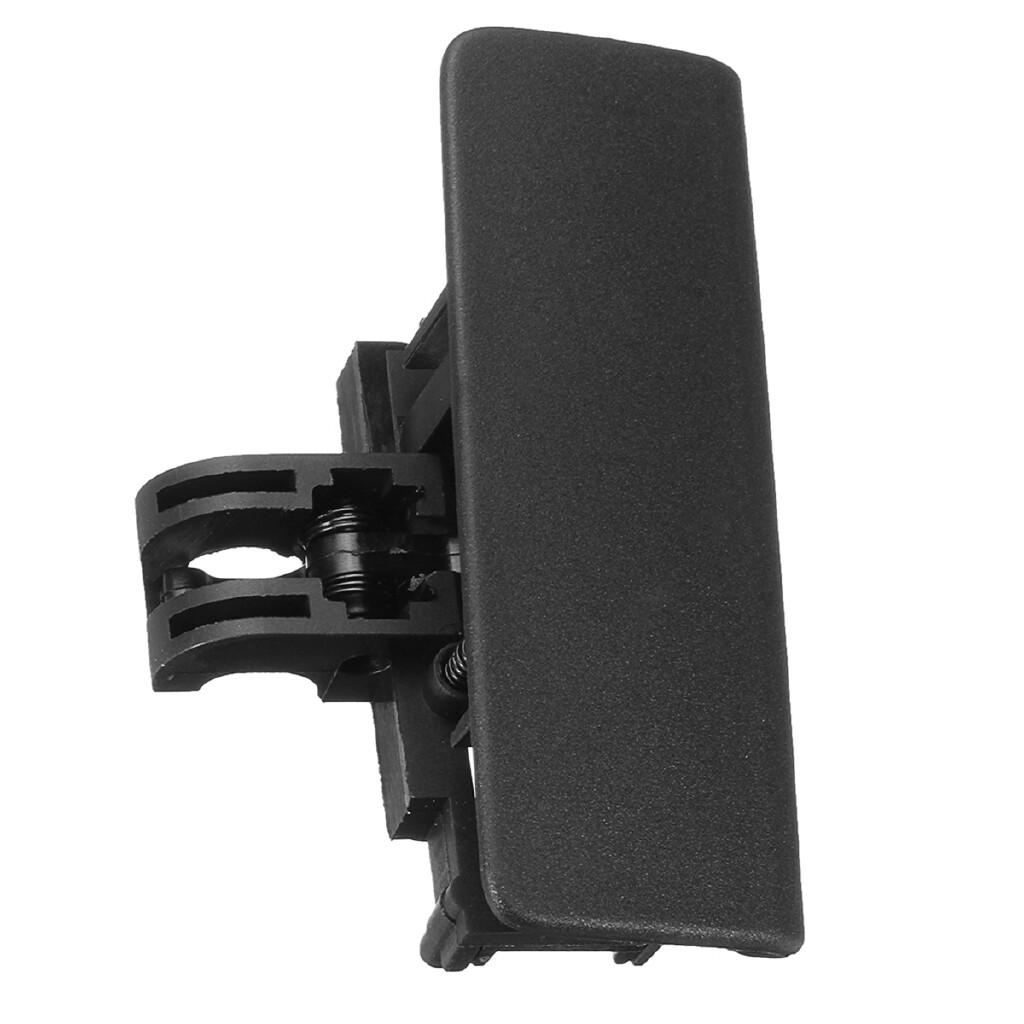 Car Accessories - Black Glove Box Front Lid Handle Catch For Fiat Grande Punto Replaces 735426145 - Automotive