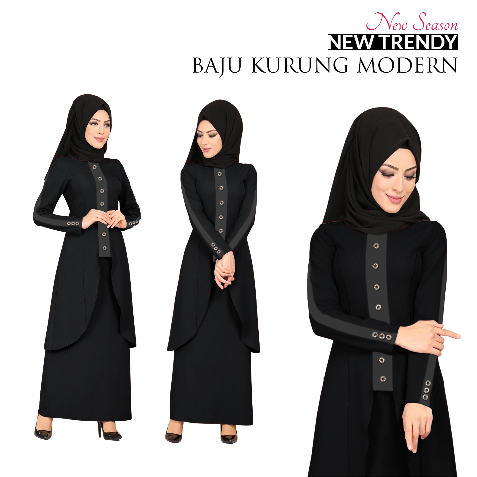 Harga New Season Trendy Baju Kurung Modern for Muslimah This Month