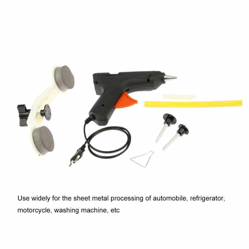 Auto Car Dent & Ding DIY Repair Kit Dent Removal Tool (Black Red)