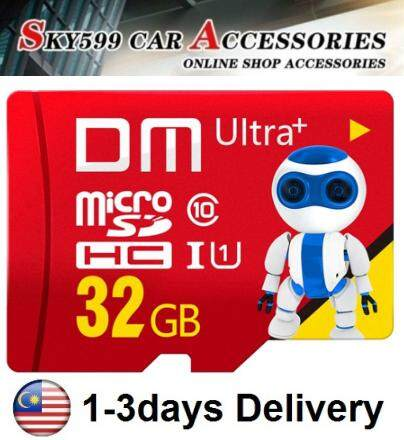 DVR DM Ultra Micro SD Card Micro SD Card Cute Robot Card 32G