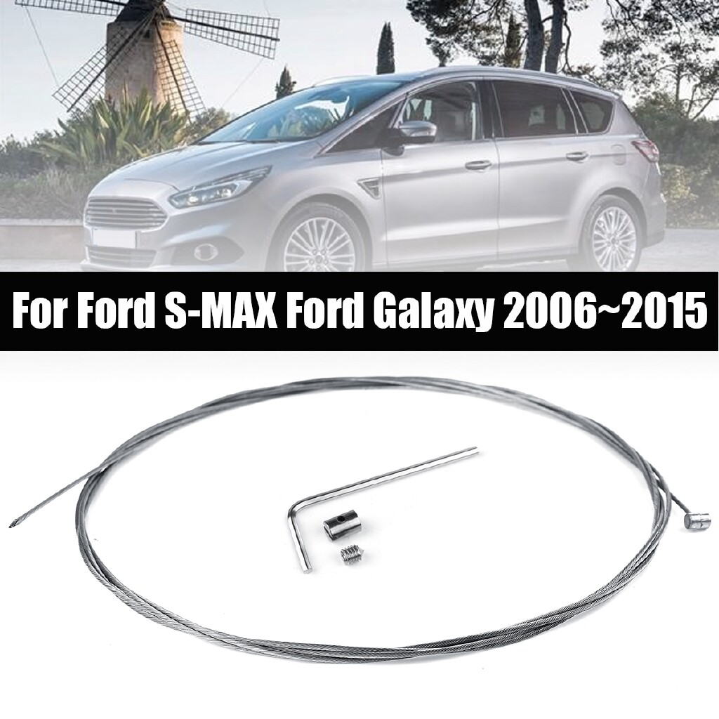 Automotive Tools & Equipment - Stainless Handbrake Lever Release Brake Cable For Ford S-MAX Galaxy 20062015 - Car Replacement Parts