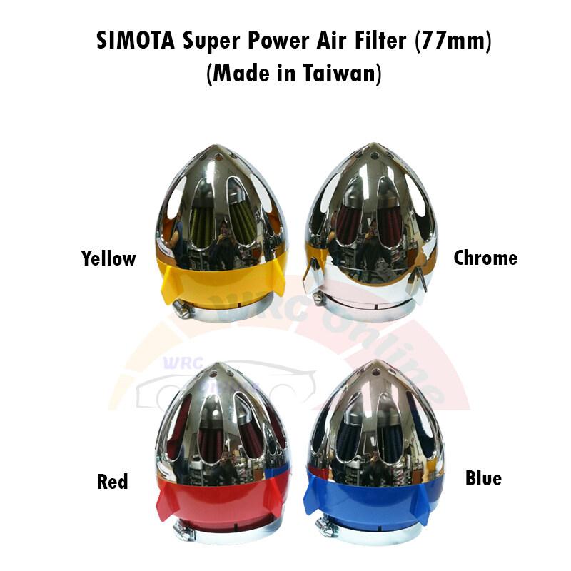 SIMOTA Super Power Air Filter 77mm (Made in Taiwan) - Chrome