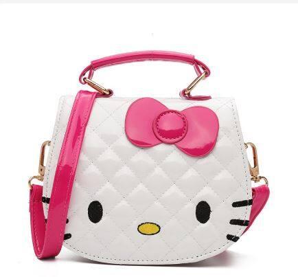 Ready Stock Hello Kitty Bag Cartoon Handbag Kids Cute Sling Kid Bags WB0044