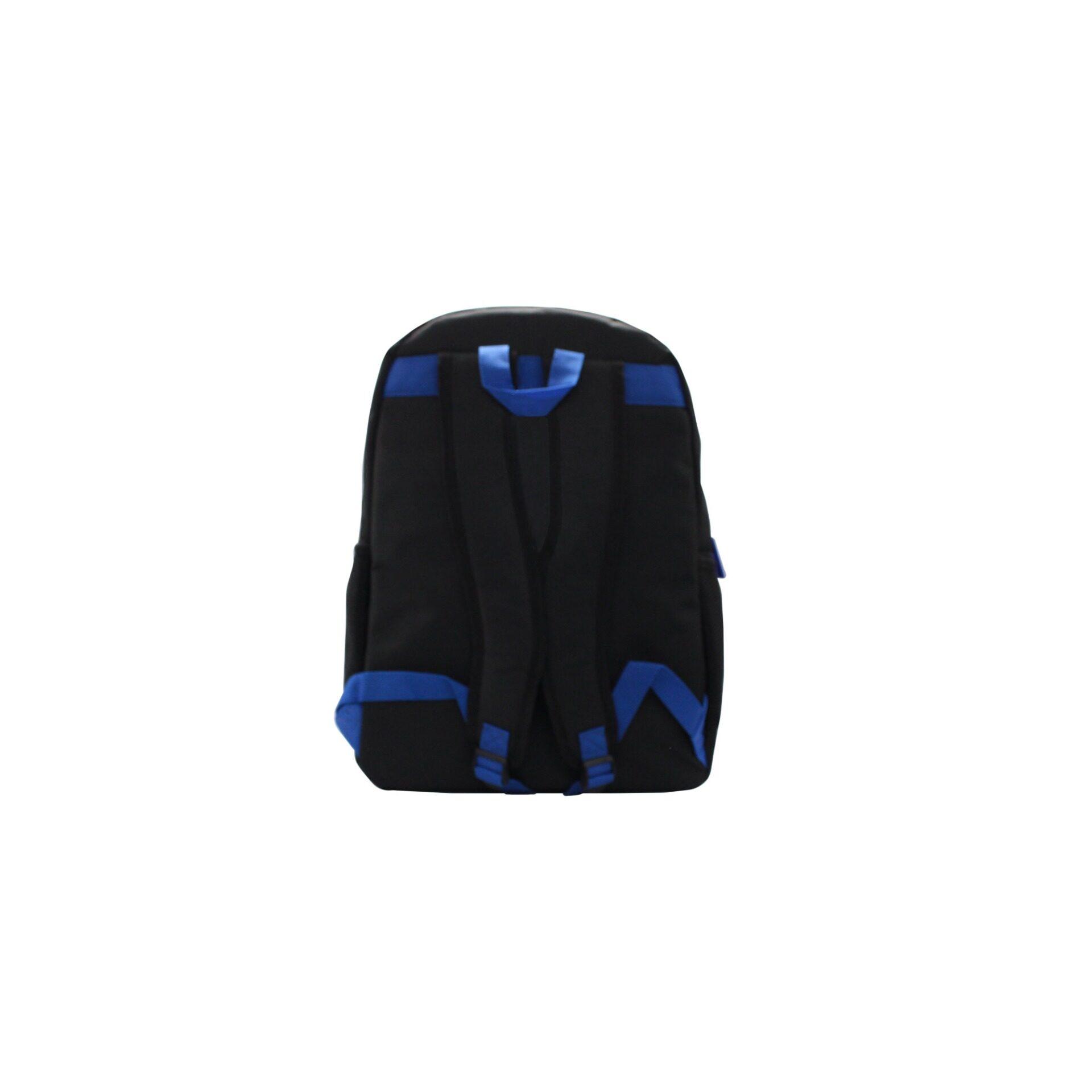 Transformers Camo 84 Front Pocket Nylon Back To School Backpack (Grey & Black)