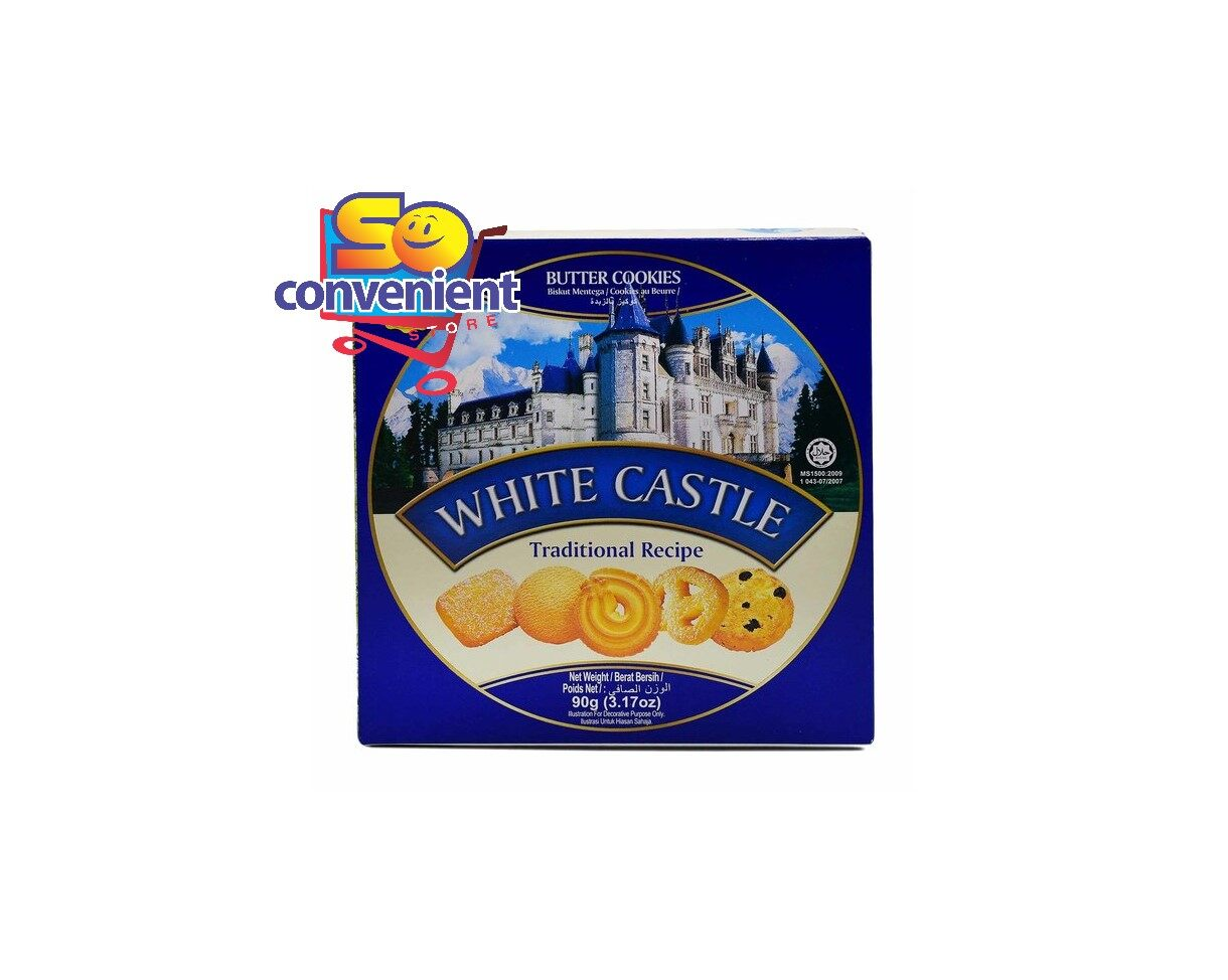 White Castle Traditional Recipe Butter Cookies 90g