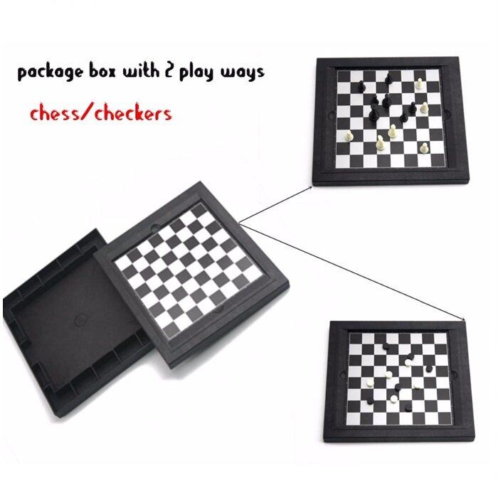8 in 1 Game Games Mini Board Chess Backgamon Solitaier Tic Tac Toe etc