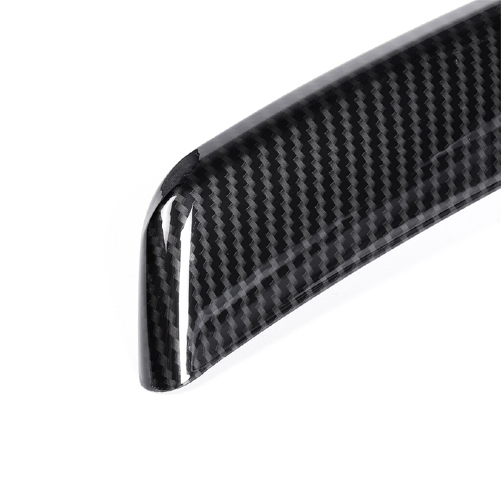 Moto Spare Parts - Carbon Fiber Front Lower Middle Grille Frame Trim For Alfa Romeo Giulia 2017-18 - Motorcycles, & Accessories