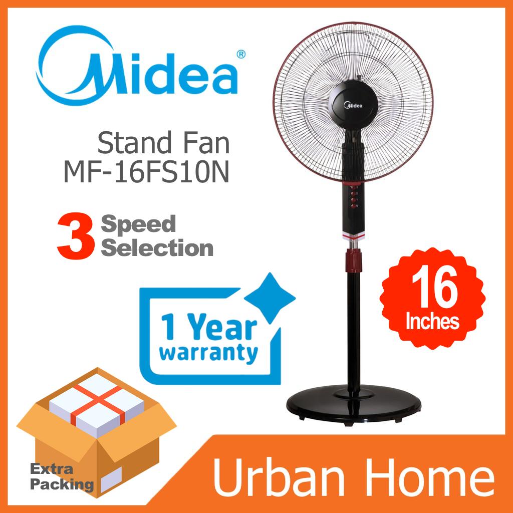 """MIDEA 16"""" 3 Speed Stand Floor Fan (MF-16FS10N/MF16FS10N)"""
