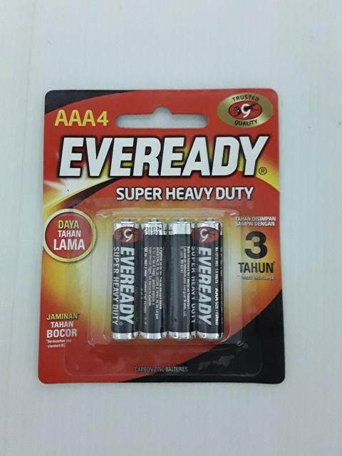 Eveready Heavy Duty AAA Battery (4pc)