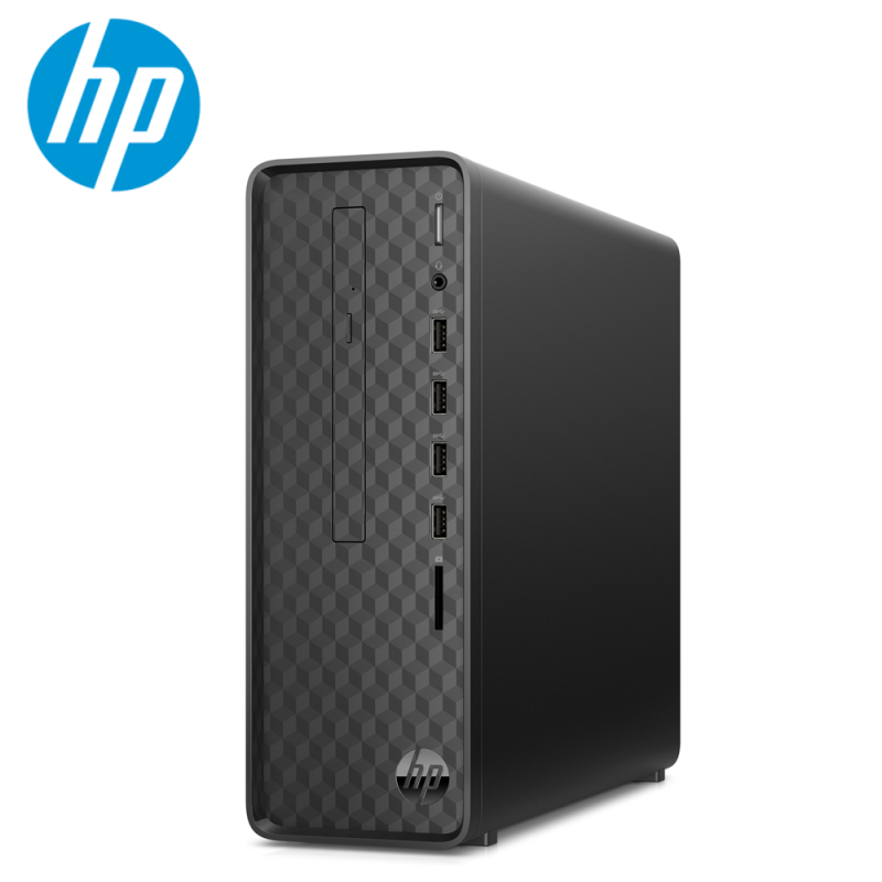 HP SLIMLINE S01-PF1140D DESKTOP INTEL CORE I5-10400 8GB DDR4 1TB UMA DVDRW INTEL UHD GRAPHIC 630 KB+MSE  WIFI PRE-INSTALLED H&S 181B0AA 3 YEARS ON-SITE WARRANTY
