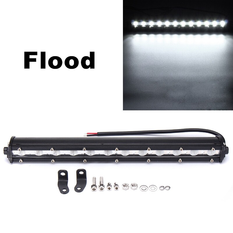 Car Lights - CREE LED Work Light Bar Box Off Road Spot Beam Light 13inch 3600LM - Replacement Parts