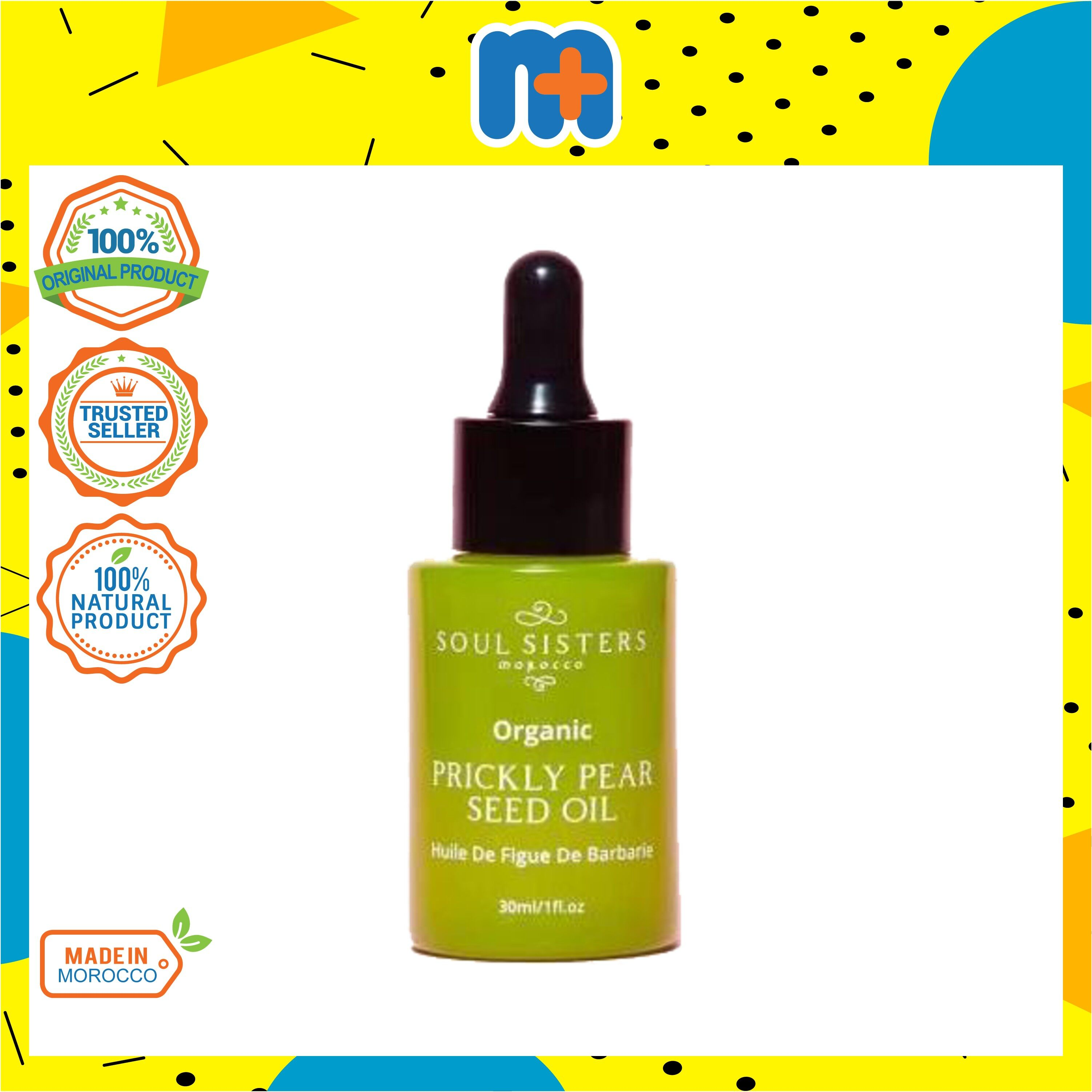 [MPLUS] SOUL SISTERS Morocco Prickly Pear Oil 30ml