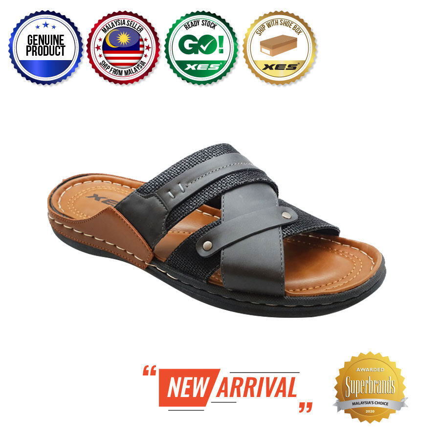 XES Men MCZY100 Stylish Sandals (Black, Coffee)