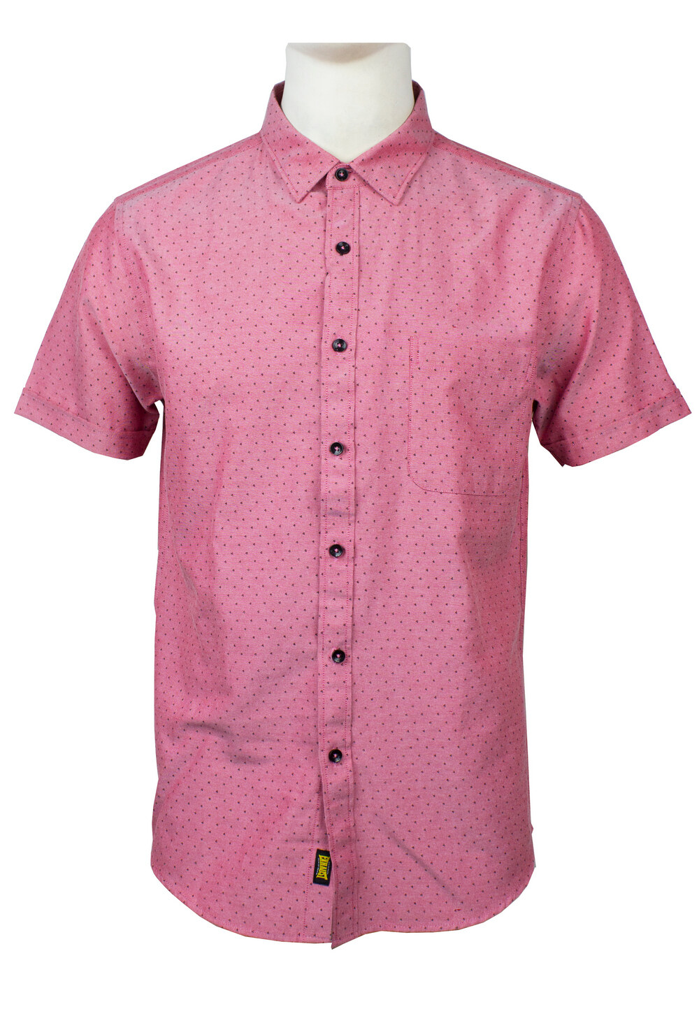 Men's Printed Short Sleeve Shirt 851