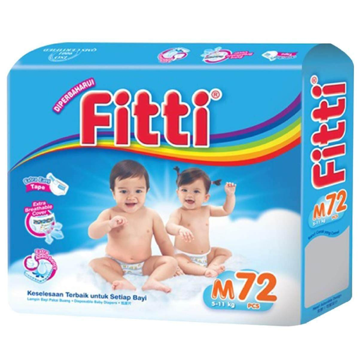 PAMPERS FITTI -M72