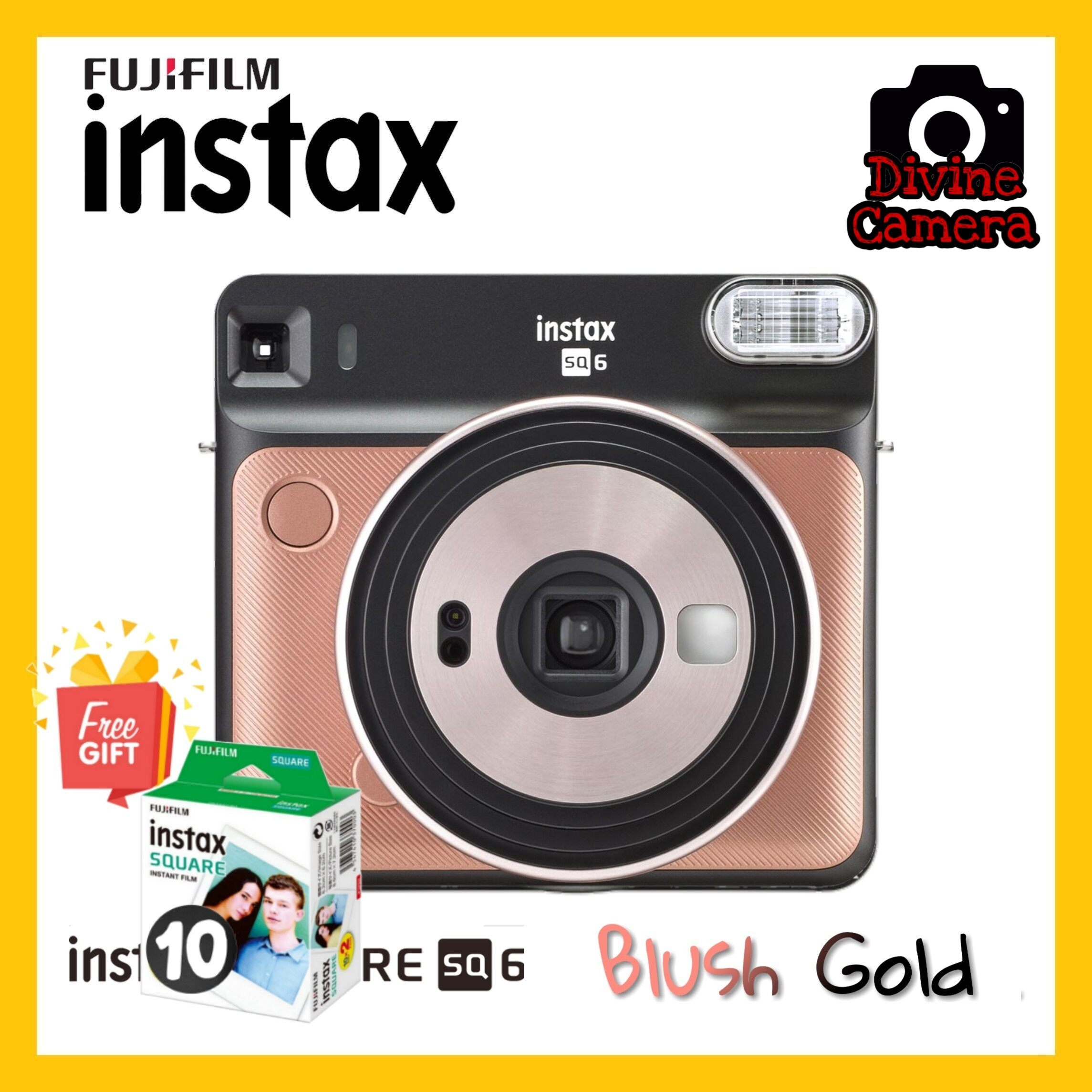 FUJIFILM INSTAX SQUARE SQ6 Instant Film Camera Special Package