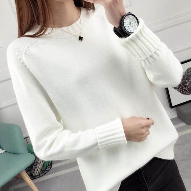 (Pre Order14 Days JYS Fashion Korean Style Women Knit TopCollection526-9860col525a-9860--White -XL