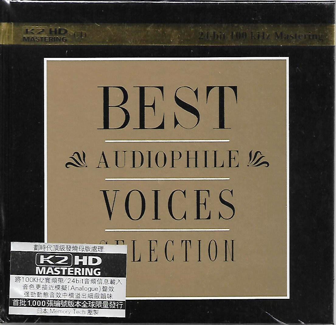 Best Audiophile Voices Selection CD K2 HD Mastering 24 Bit 100 kHz Mastering
