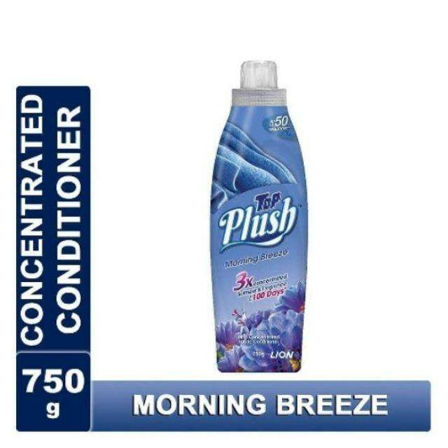 TOP Plush Ultra Concentrated Fabric Conditioner -MORNING BREEZE 750g  READY STOCK