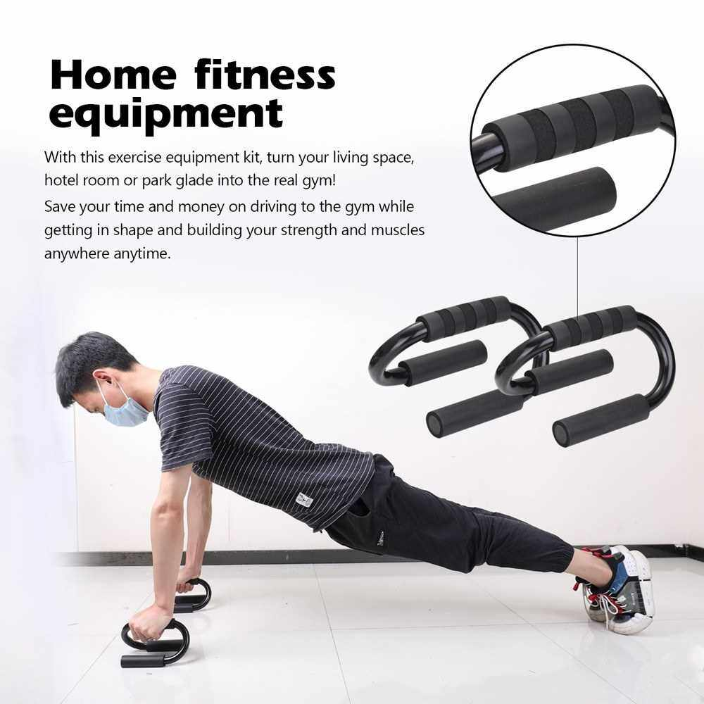 Best Selling 3-in-1 AB Wheel Roller Kit Spring Exerciser Abdominal Press Wheel Pro with Push-UP Bar Knee Pad Portable Equipment for Home Exercise Muscle Strength Fitness (Standard)