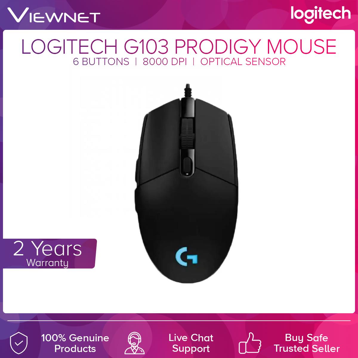 Logitech G103 Prodigy Gaming Mouse