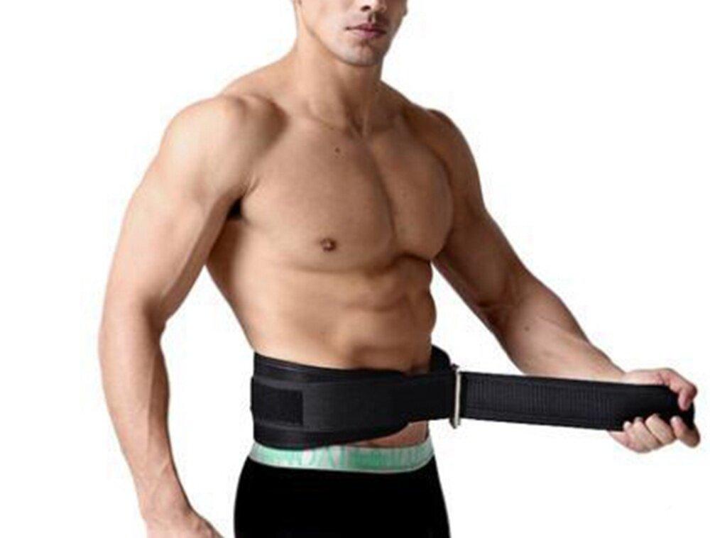 健身举重深蹲散打护腰带L (Weightlifting Protective Belt)