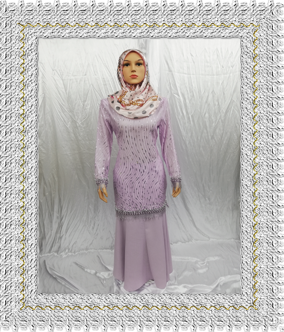Harga Baju Kurung Fancy. Prada & Daimond Lace This Month