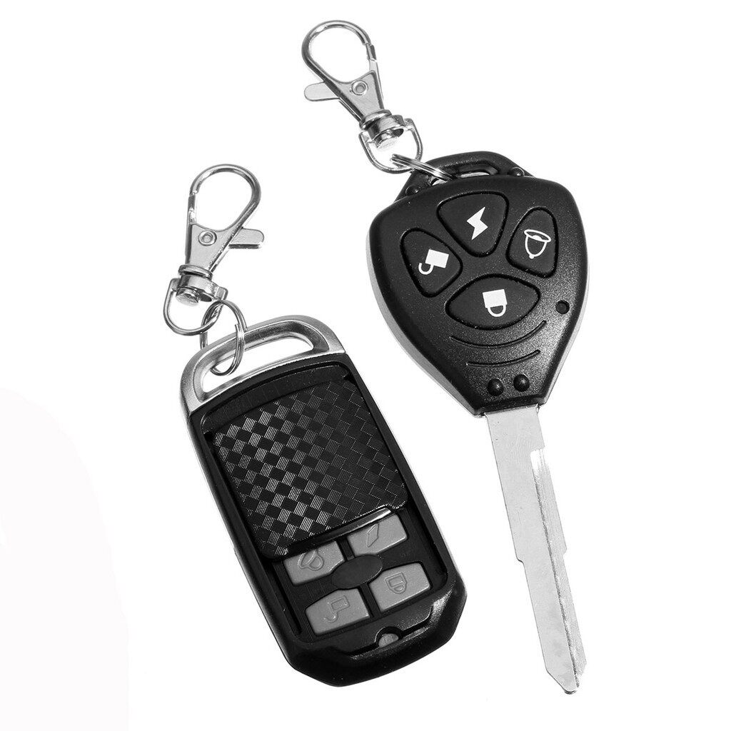 Moto Accessories - Motorcycle Compact Security Alarm System Remote Control - Motorcycles, Parts