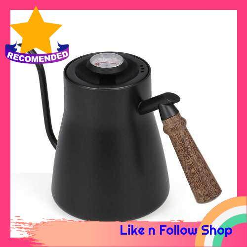 Pour Over Coffee Kettle Hand Drip Coffee Pot(With Thermometer) (2)
