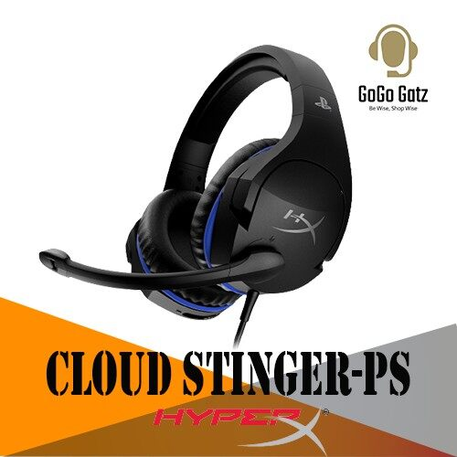 {HX-HSCSS-BK/AS} {Ship Out Within 24 Hours} HyperX Cloud Stinger Gaming Headset - Official PS4 Licensed Headset