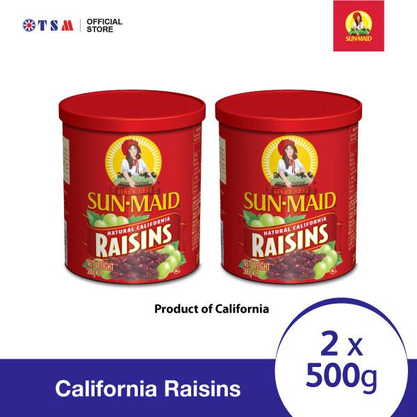 SUN-MAID CALIFORNIA RAISINS 500G X 2 PACKS