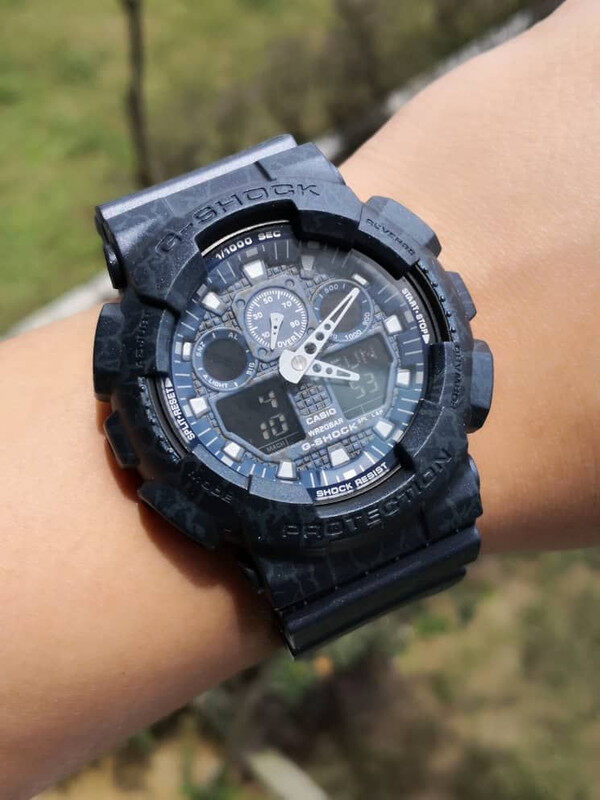 Sports Collection G_SHOCK_GA100 Fashion Unisex Watch Full Set All In One Edition Limited Stock With All Accessories Fast Delivery Service