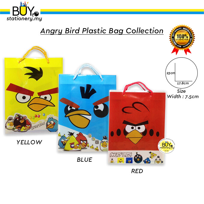 Angry Birds Plastic Bag Collection - ( PCS )