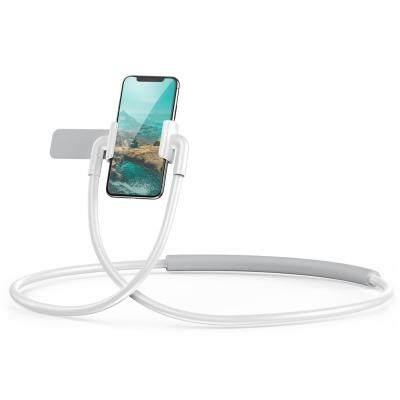 Baseus New Neck-mounted Lazy Bracket Hands-free Phone Holder (WHITE)