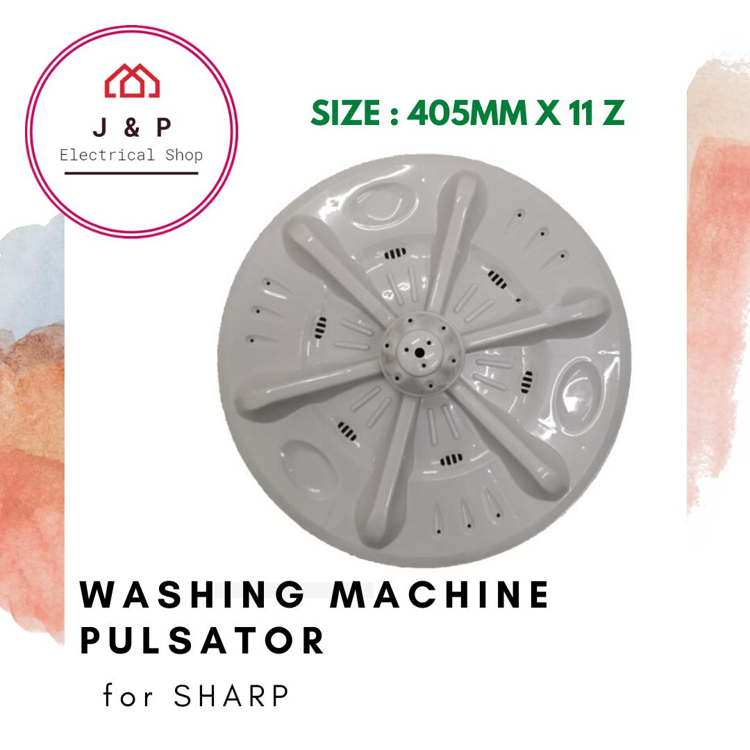 SHARP WASHING MACHINE PULSATOR (ES119 / ESS139 / ESS159)_ 405mm X 11 z [ READY STOCK]1378496232-1598441811598-0
