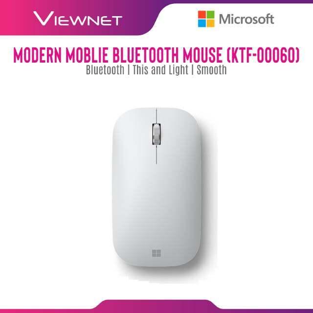 Microsoft Modern Mobile Bluetooth Mouse (KTF-00005) Black , (KTF-00020) Mint ,(KTF-00032) Pastel Blue , (KTF-00044) Peach , (KTF00060) Glacier