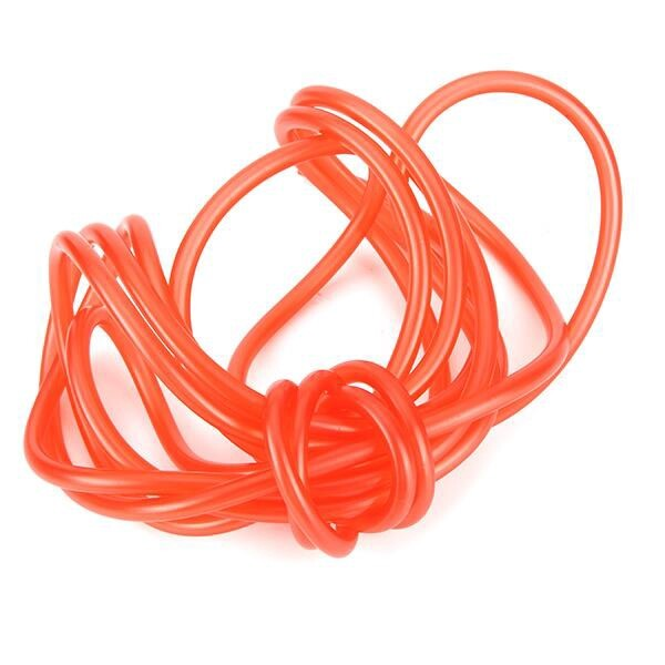 Moto Accessories - 5M 5mm I/D 8mm O/D Petrol Fuel Line Hose Gas Oil Pipe Tube Universal - BLACK / RED / GREEN / BLUE / YELLOW / WHITE