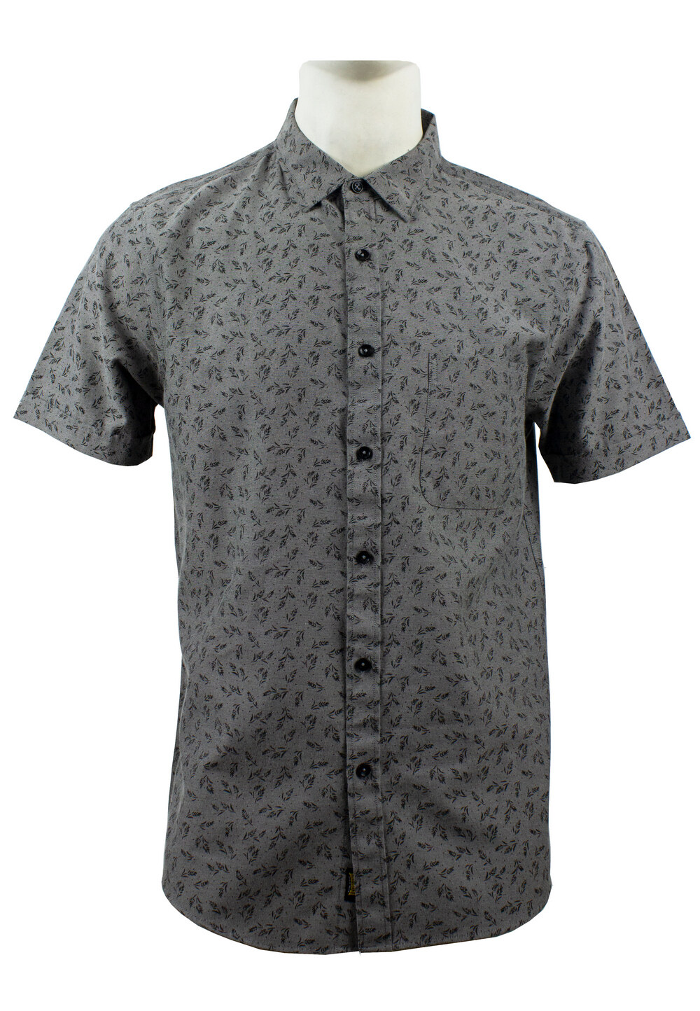 Men's Printed Short Sleeve Shirt 849