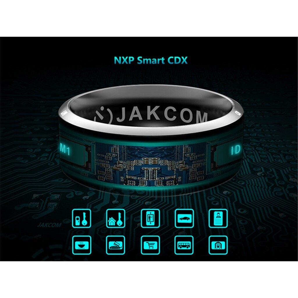Gadgets - JAKCOM R3 NFC Technology Magic Smart Ring Black smartphone_3C - NUMBER12 / NUMBER11 / NUMBER10 / NUMBER9 / NUMBER8 / NUMBER7
